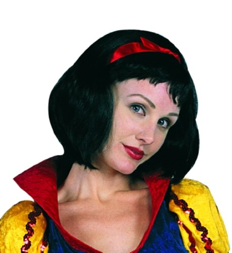 Adult Snow White Wig Costume Accessory