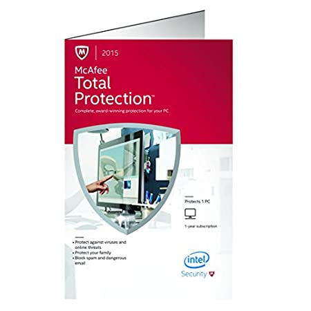 McAfee  Total Protection 2015 -1 PC