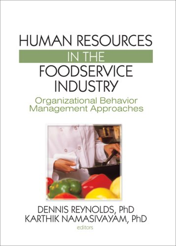 Human Resources in the Foodservice Industry:...