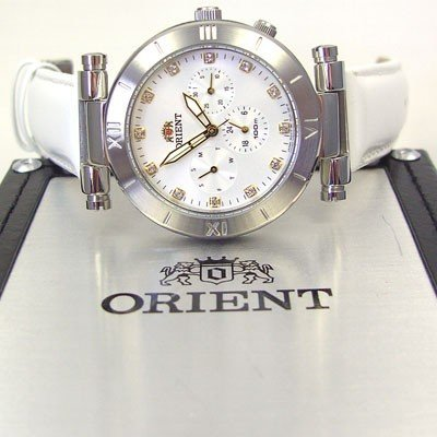 ORIENT Dressy elegant Quarz Herrenuhr Leder FRL01005W0