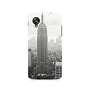 TAZindia Designer Printed Hard Back Case Cover For LG Nexus 5