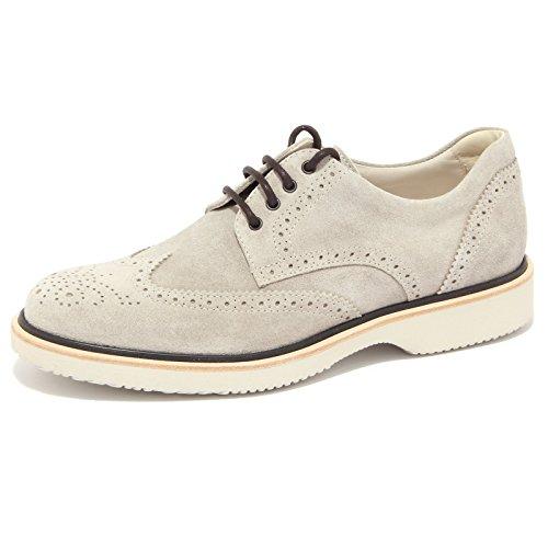 3806Q scarpa uomo HOGAN ROUTE DERBY grigio shoe suede grey men [9]