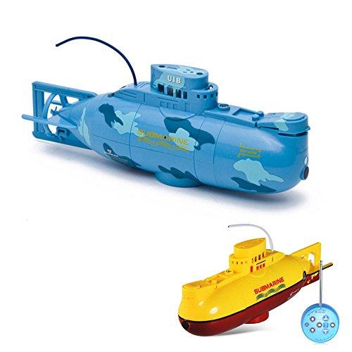 6-Kanal-mini-RC-ferngesteuertes-U-Boot-Submarine-Komplett-Set-inkl-integr-Akku-Ladegert-Fernsteuerung
