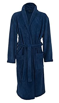 Mens Fleece Robe by John Christian -…