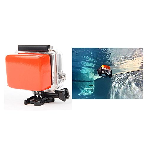 3-in-1-Red-Float-Box-Waterproof-Backdoor-Case-Cover-3M-Adhesive-for-Gopro-Hero-23