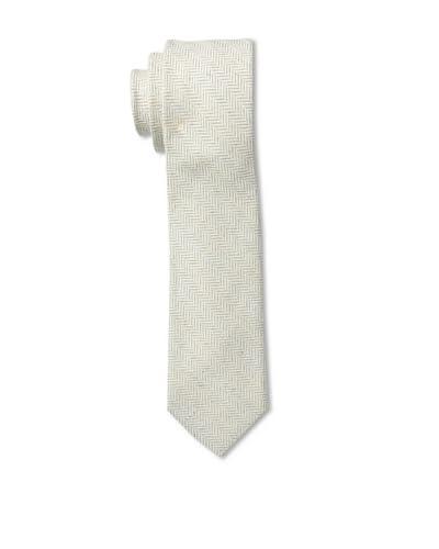 Gitman Men's Herringbone Tie, Grey, One Size