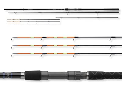 Daiwa Team Daiwa Heavy Feeder 3+3 parts, max.150g - Feeder rod