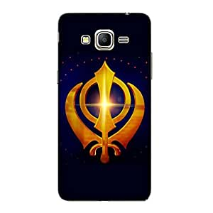 Customizable Hamee Original Designer Cover Thin Fit Crystal Clear Plastic Hard Back Case for Coolpad Note 3 / Cool pad note 3 (Khanda / Blue)