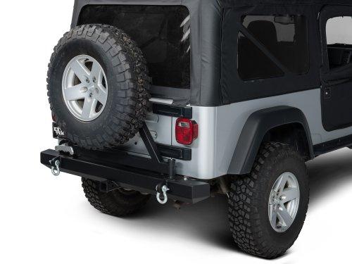 Barricade J20852 Classic Rear Bumper w/ Tire Carrier (Rear Tj Bumper compare prices)