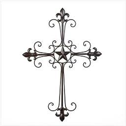 Lone Star Wall Cross Decor
