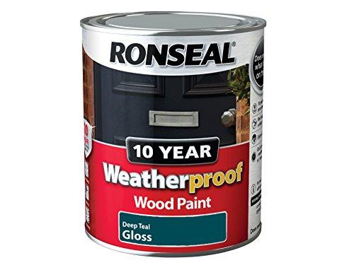 ronseal-wpdtg750-750-ml-10-year-weatherproof-exterior-wood-deep-gloss-paint-teal
