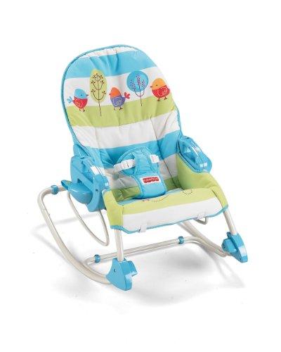 Fisher-Price modelo P6946 hamaca bebe automatica pajaritos - 5