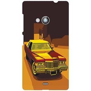 Printland Nokia Lumia 535 Back Cover