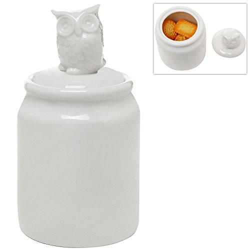 ceramic owl cookie jars Home