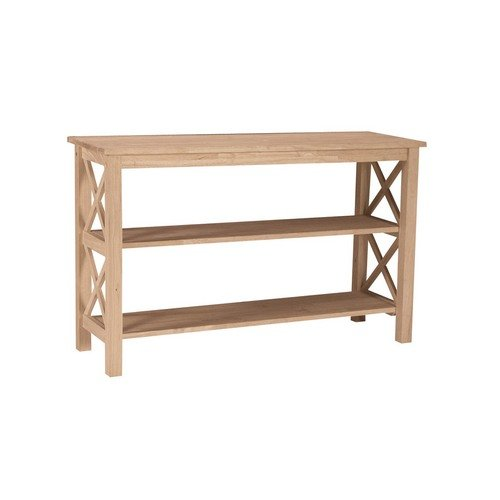 Cheap Whitewood Hampton console or sofa table -Occasional Collection – International Concepts – OT-70S (B0074K0ZAY)