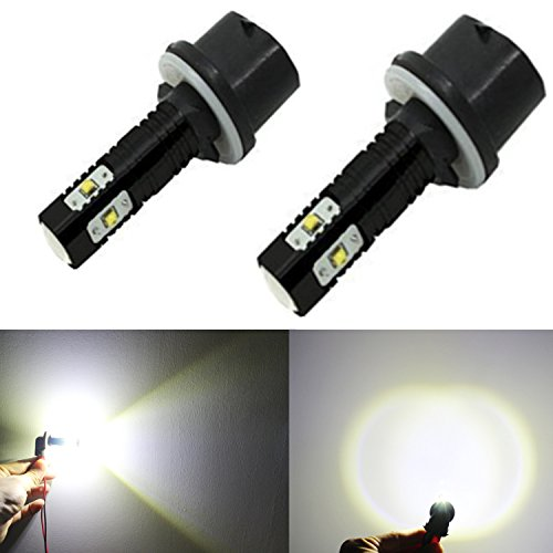 Alla Lighting CREE 50W 880 899 High Power LED Fog Lights Bulbs Lamps Replacement 893 886 890 892 (Fog Lights 2005 Yukon compare prices)