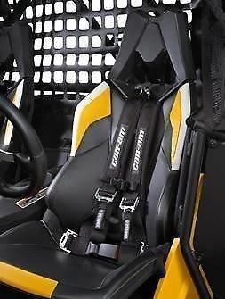 cam am commander and maverick 2014 driver side 4 point harness. Black Bedroom Furniture Sets. Home Design Ideas