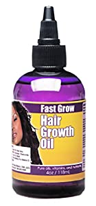 Fast Grow Natural Hair Growth Oil 4 oz.