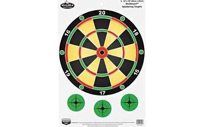 Birchwood Casey Dirty Bird 12 x 18-Inch Shotboard Target, 8 Sheet Pack