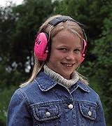 Peltor Kids Ear Defenders - Neon Pink