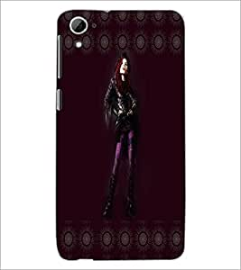 Printdhaba Girl With Attitude D-3569 Back Case Cover For Htc Desire 826