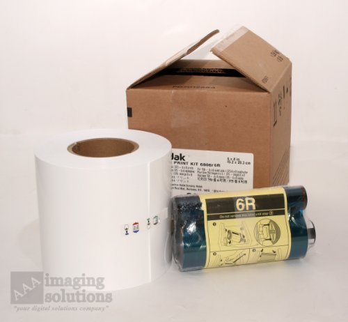 Kodak Photo Print Kit for the 6800 Thermal Printer, 6R - Ribbon & Paper for 375 6