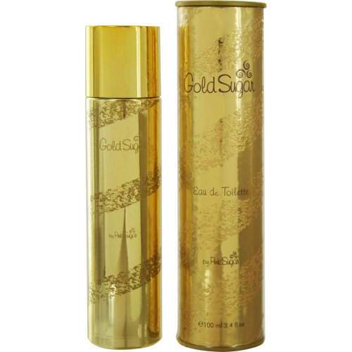 Aquolina Eau de Toilette Spray, Gold Sugar, 3.4 Ounce