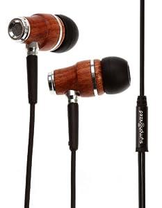 Symphonized NRG Premium Genuine Wood In-ear Noise-isolating Headphones special