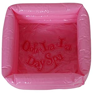 Pink Inflatable Foot Spa