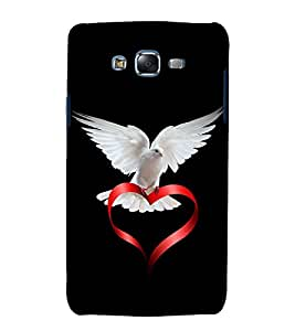 printtech Peace Pigeon Back Case Cover for Samsung Galaxy A3 /Samsung Galaxy A3 A300F