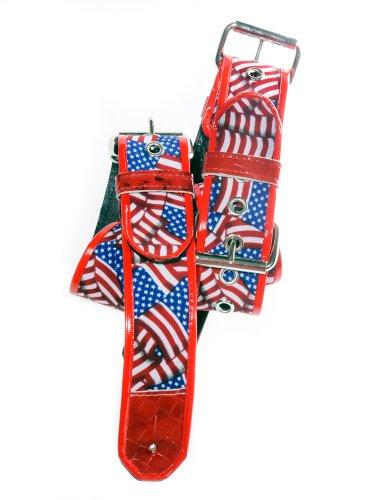 Jodi Head Guitar Wear 1FRBUCKLEROLL Flag Roller Buckle Strap