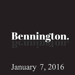 Bennington, January 7, 2016 Radio/TV Program