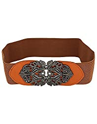 Aadi & Sons Metal Gold Women Belt