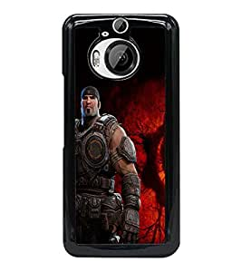 PRINTSWAG ACTION MAN Designer Back Cover Case for HTC ONE M9 PLUS
