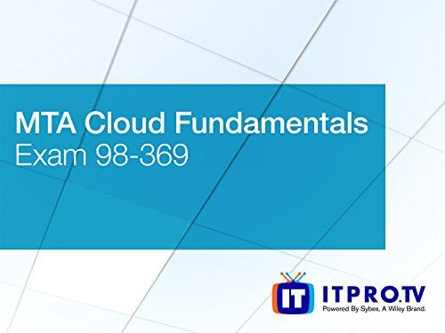 MTA Cloud Fundamentals Exam 98-369