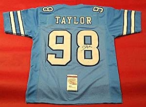 Signed Lawrence Taylor Jersey - Unc Lt - JSA Certified - Autographed College Jerseys