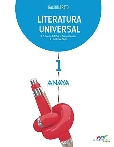 Literatura Universal 1. (Aprender es crecer en conexión)