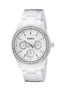 Fossil Stella White Dial Women's Quartz Watch - ES1967