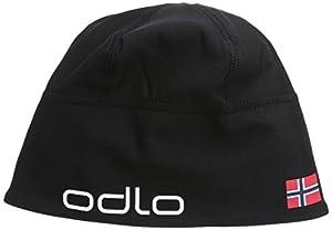 Odlo Polyknit Team Bonnet Black/Norwegian Flag