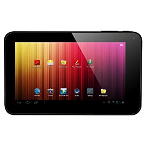 "AXESS TA2504-7BK 7"" dual camera tablet with Android 4.1 Jelly Bean"