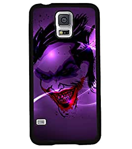 Fuson 2D Printed Ghost Designer back case cover for Samsung Galaxy S5 - D4498