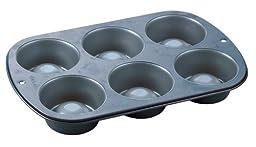 Dessert Shell Pan-6 Cavity 3-1/2-Inch-by-1-1/2-Inch