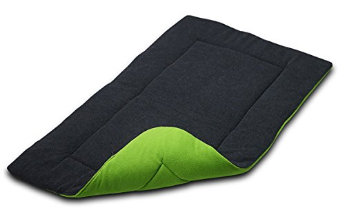 Zackx Dog Crate Mat Comfort Cage Bed Pad Washable Nap Bed