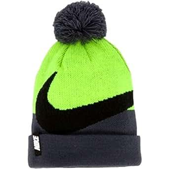 Amazon.com: Nike Pom Beanie Winter Hat (Anthracite Gray