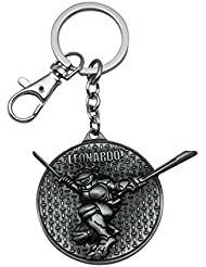 Quoface Silver Metal Key Chain KC27LEOs