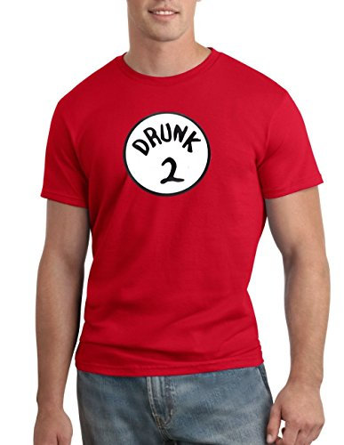 Drunk 2 Halloween Funny Dr. Seuss T-shirt Group Costume Tee