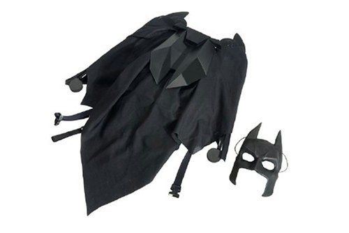 The Dark Knight Wayne Tech Mega Cape Accessory (Dark Knight Cowl compare prices)