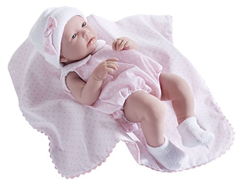 Baby Doll 39 cm JC Toys full vinyl body