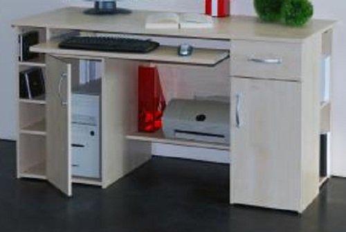 7-7-6-422: made in BRD – Computertisch / Schreibtisch, ahorn – PC-Tisch – ahorn dekor günstig online kaufen