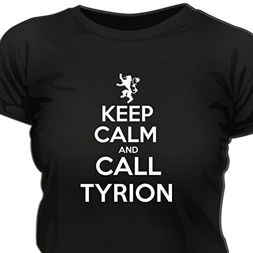 Creepyshirt-KEEP-CALM-AND-CALL-TIRYON-GOT-GAME-OF-THRONES-INSPIRED-WOMAN-T-SHIRT-XL